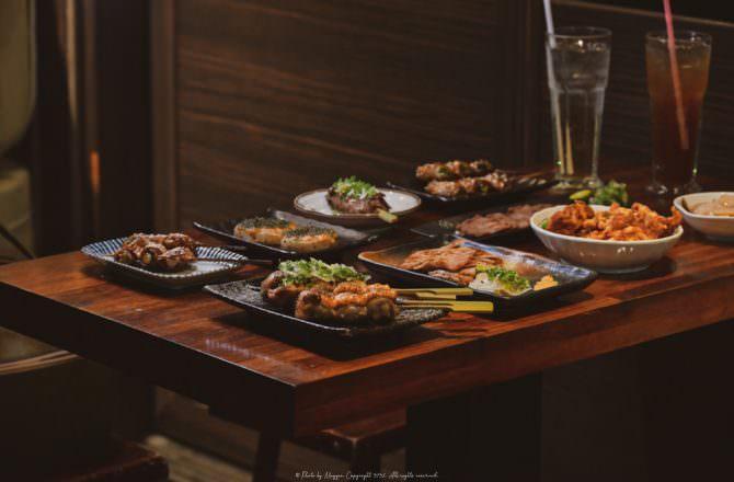 東區居酒屋|老炭伙居酒屋(串燒‧酒場)道地日式串燒烤物 難忘的舌尖美味!