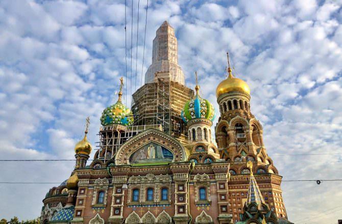 【俄羅斯|聖彼得堡】滴血教堂 聖彼得堡超人氣景點!宛如一座神秘的城堡