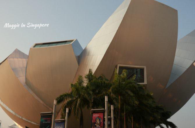 【新加坡自由行】藝術科學博物館3大必看特色!金沙購物中心的巨型蓮花建築,必看燈光秀!