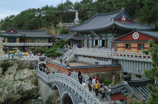 【釜山景點】海東龍宮寺|佇立在海岸旁的神聖寺院!韓國三大觀音聖地|釜山靈驗許願地