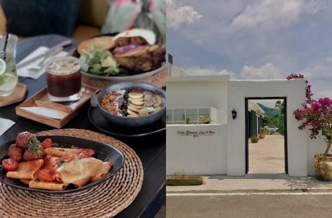 【礁溪咖啡廳】蒔花DailyBlossom Cafe & More田野裡的純白咖啡廳,瀰漫異國情調|礁溪打卡景點|宜蘭美食