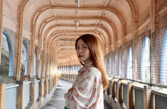 基隆中山陸橋|我眼裡的中山陸橋,基隆人的回憶長廊|老舊藍色陸橋 電影拍攝場景|基隆景點