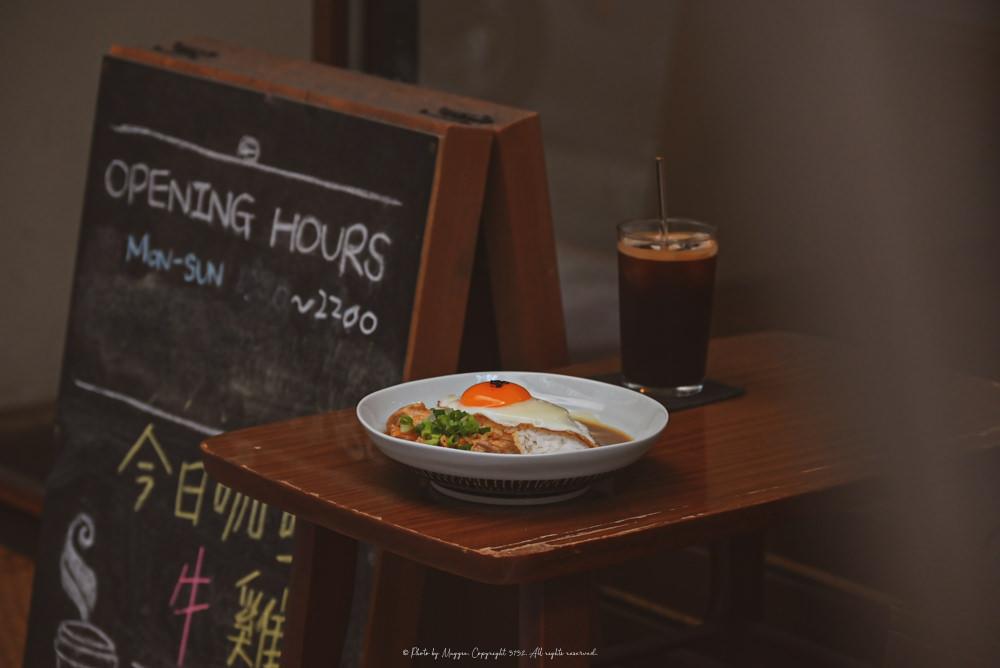 赤峰街咖啡廳》日子咖啡Nichi Nichi 藏匿巷弄的日系小溫馨 特地來吃咖哩飯|中山美食